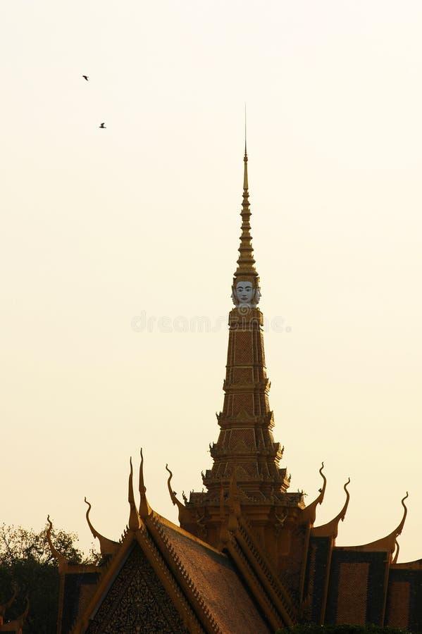 Καμπότζη penh phnom στοκ εικόνα
