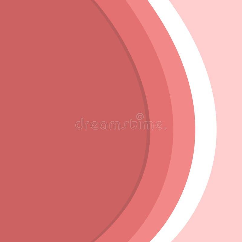Καμπύλη τριών τόνου με το υπόβαθρο διαίρεσης σκιών στο φως και το σκοτάδι Πολύχρωμο κυματιστό αφηρημένο σχέδιο Ιδέα σκηνικού για διανυσματική απεικόνιση