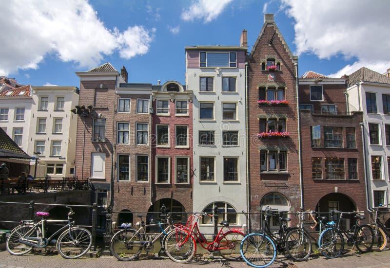 Κανάλια της Ουτρέχτης, Κάτω Χώρες στοκ φωτογραφία με δικαίωμα ελεύθερης χρήσης