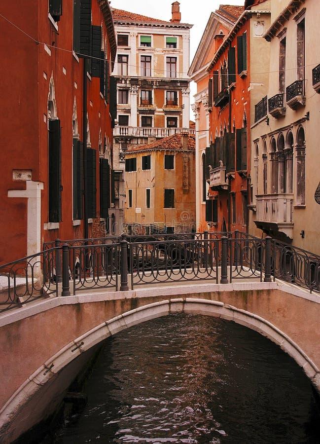κανάλι Βενετία στοκ εικόνες