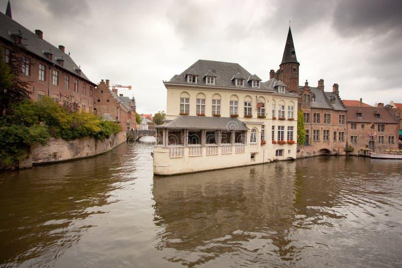 κανάλι κτηρίων του Βελγί&omicr στοκ εικόνες
