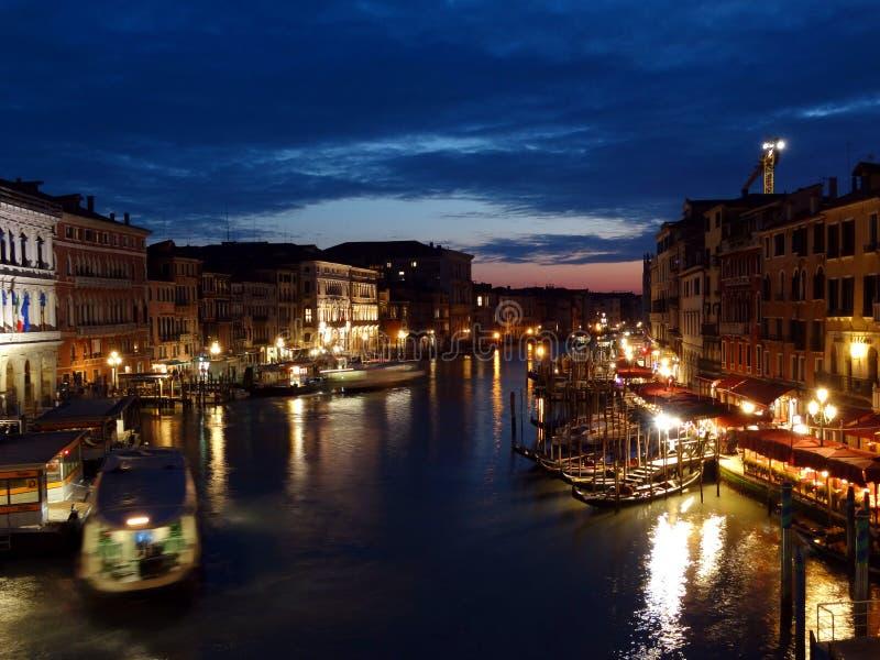 κανάλι μεγάλη Ιταλία Βενετία στοκ εικόνες με δικαίωμα ελεύθερης χρήσης