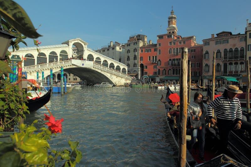 κανάλι grande Βενετία στοκ εικόνες με δικαίωμα ελεύθερης χρήσης
