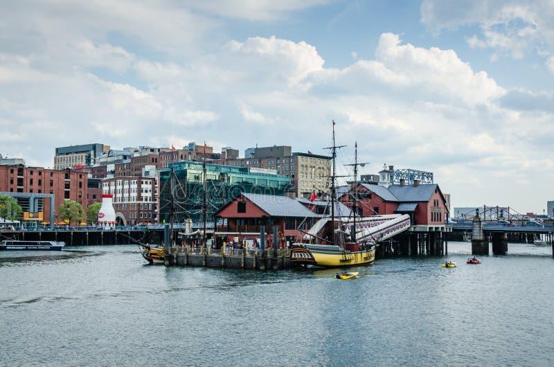 Κανάλι τεσσάρων σημείου - Βοστώνη, μΑ στοκ φωτογραφία