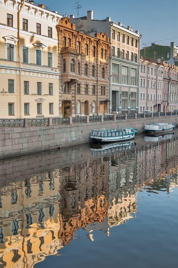 κανάλι griboedov Πετρούπολη Άγιος Ρωσία στοκ εικόνες