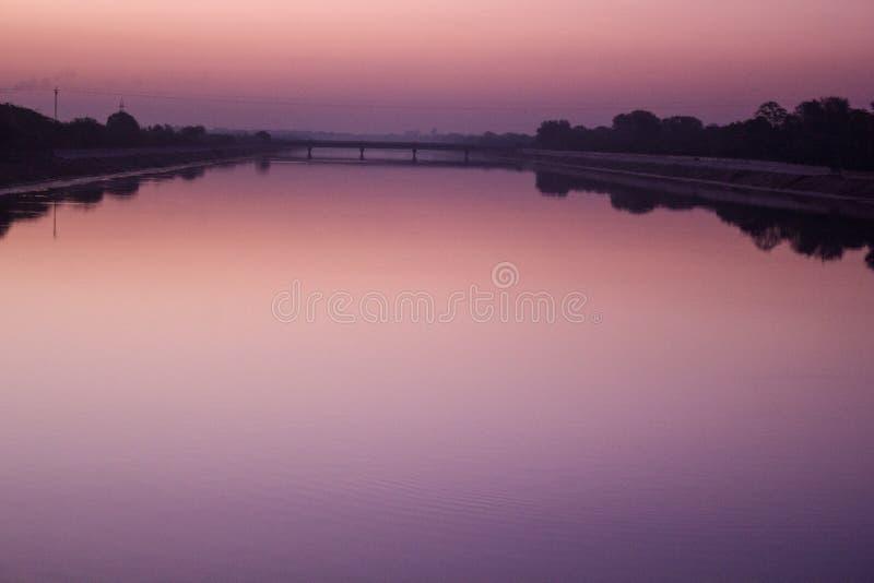 Κανάλι Narmada στοκ εικόνες