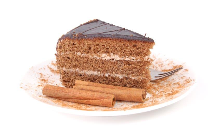 κανέλα κέικ στοκ εικόνες