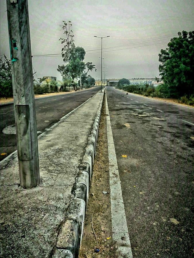 Κανένας δρόμος κυκλοφορίας στοκ φωτογραφία