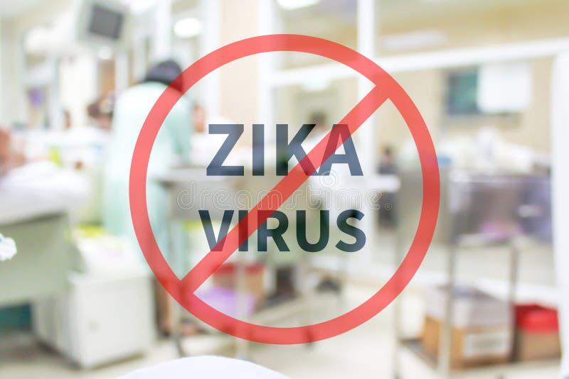 Κανένας ιός zika στοκ εικόνα