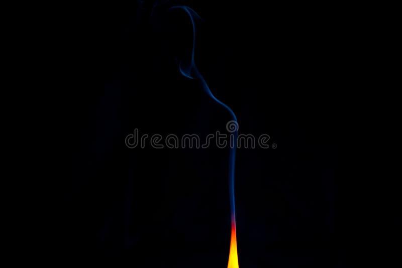Κανένας καπνός χωρίς πυρκαγιά στοκ εικόνες