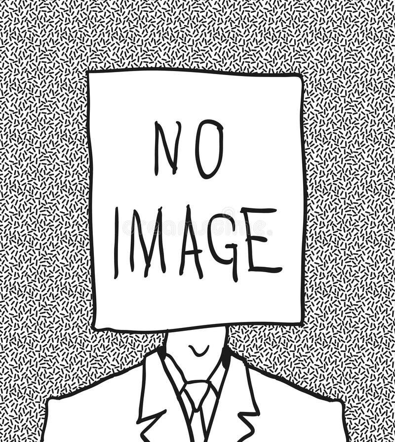 κανένας χρήστης σχεδιαγράμματος εικόνων απεικόνιση αποθεμάτων