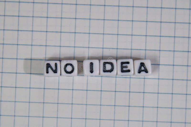 Κανένα μήνυμα κειμένου ιδέας στην ελεγμένη σελίδα σημειωματάριων στοκ φωτογραφία με δικαίωμα ελεύθερης χρήσης