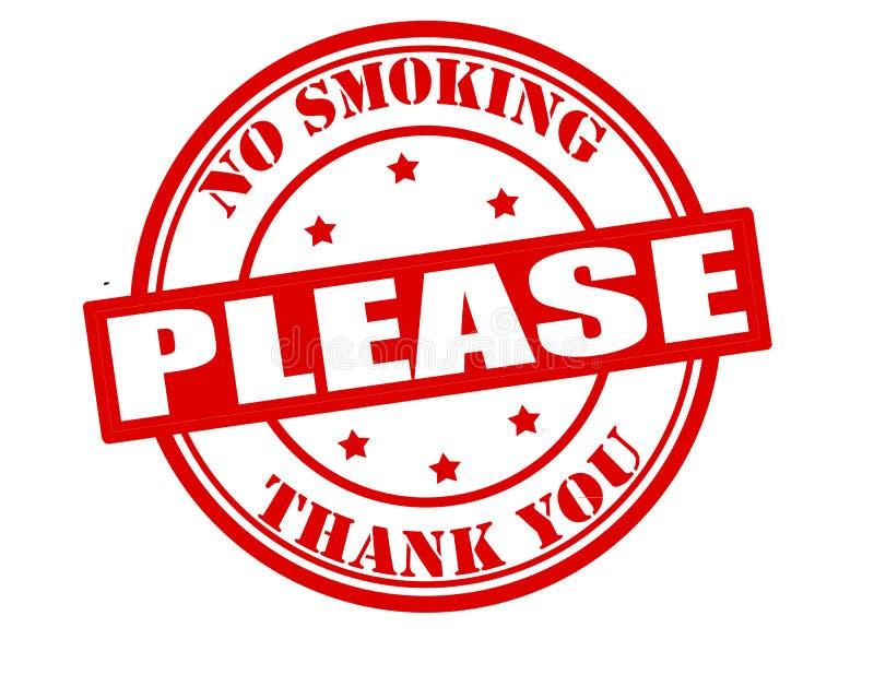 κανένα παρακαλώ κάπνισμα στοκ εικόνες