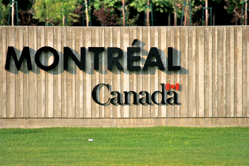 Καναδάς Μόντρεαλ στοκ εικόνες