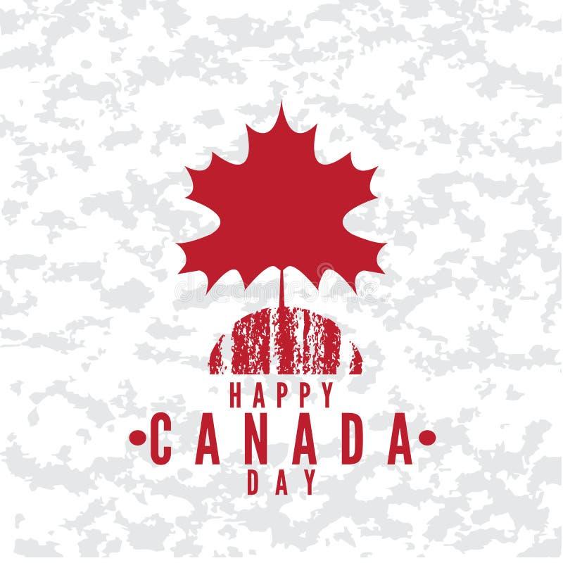 Καναδάς day2 διανυσματική απεικόνιση