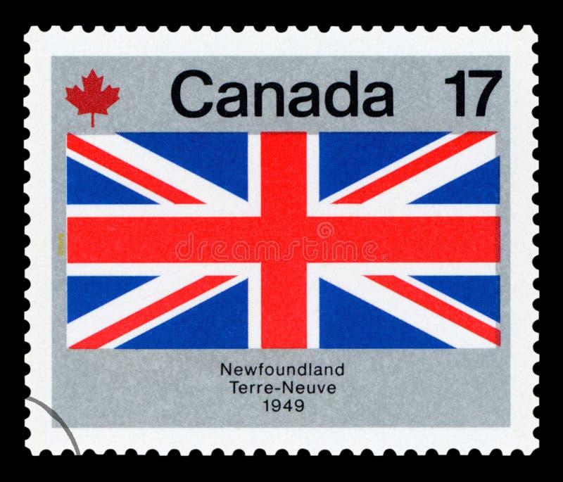 ΚΑΝΑΔΑΣ - Γραμματόσημο στοκ εικόνα με δικαίωμα ελεύθερης χρήσης