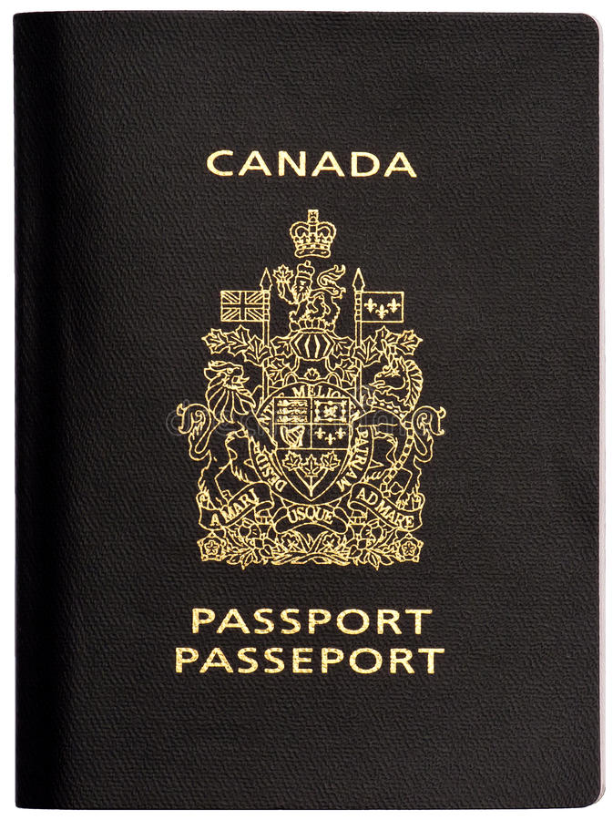 καναδικό διαβατήριο στοκ φωτογραφίες
