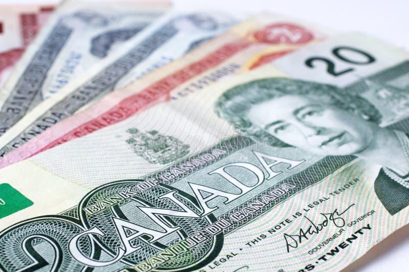 καναδικό δολάριο στοκ εικόνες