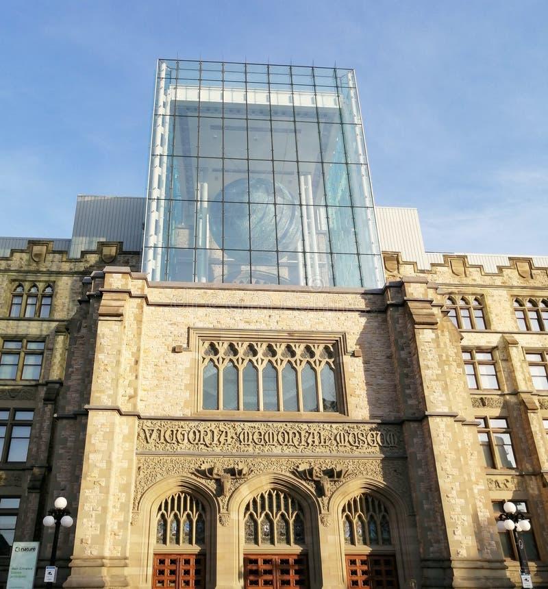 Καναδικό Μουσείο Φύσης στην Οτάβα στοκ φωτογραφίες