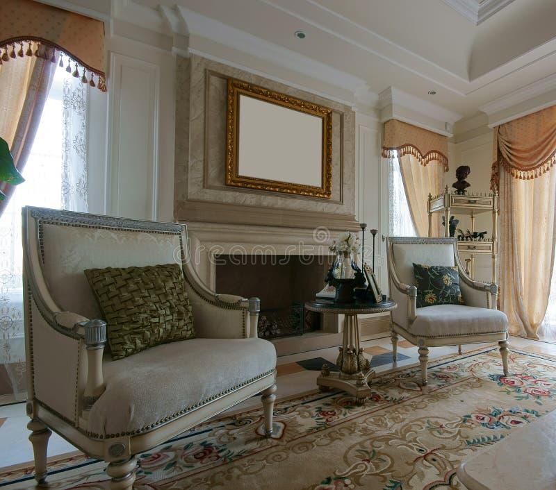 καναπές καθιστικών στοκ φωτογραφία με δικαίωμα ελεύθερης χρήσης