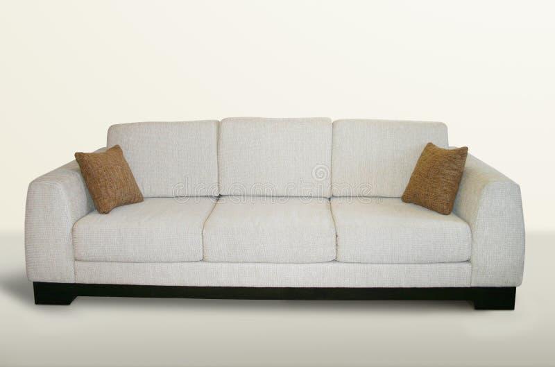 καναπές που απομονώνετα&iota στοκ φωτογραφίες