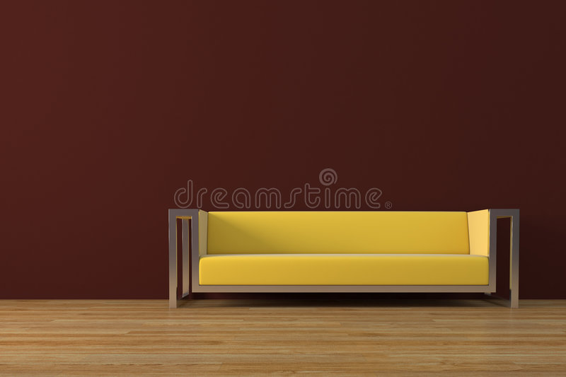 καναπές απεικόνιση αποθεμάτων