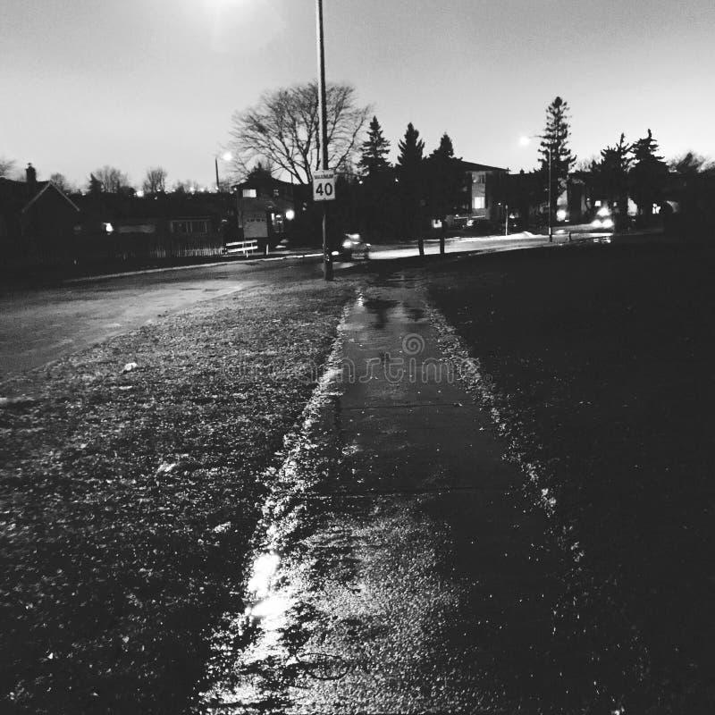 Καναδική βροχή στοκ φωτογραφίες