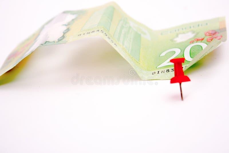 20 καναδικό δολάριο Μπιλ στοκ φωτογραφία με δικαίωμα ελεύθερης χρήσης