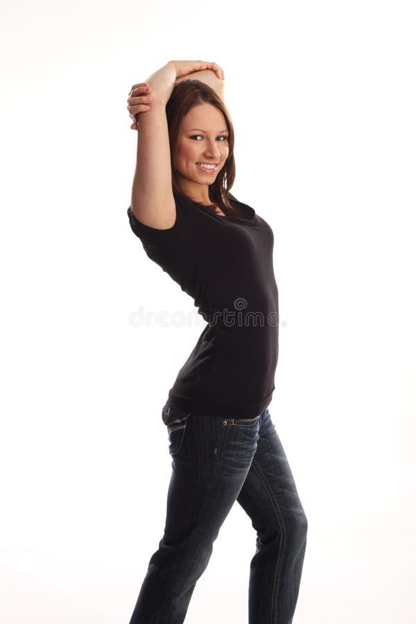 κανονικός έφηβος στοκ φωτογραφία με δικαίωμα ελεύθερης χρήσης