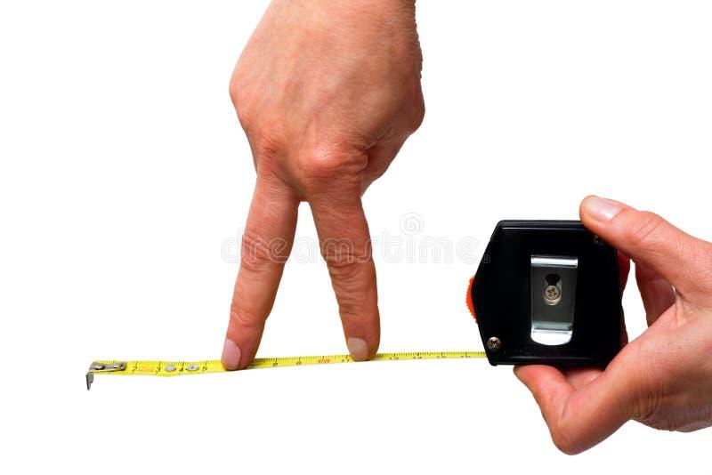 Download κανόνας χεριών στοκ εικόνες. εικόνα από ταινία, μέτρηση - 22799734