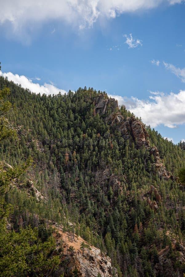 Κανόνας Colorado Springs φαραγγιών του βόρειου Cheyenne στοκ φωτογραφία με δικαίωμα ελεύθερης χρήσης