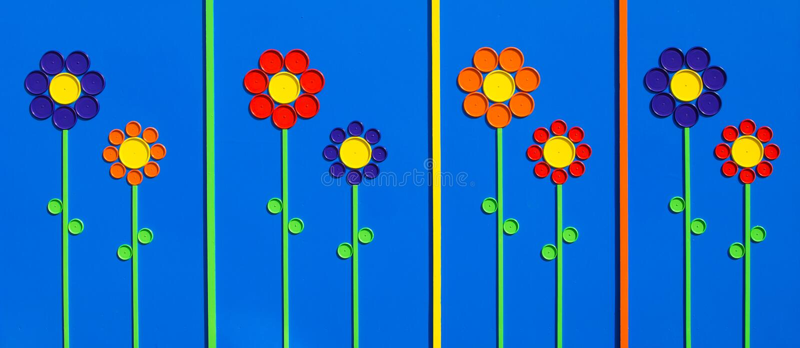 Καπάκια λουλουδιών στοκ φωτογραφία με δικαίωμα ελεύθερης χρήσης