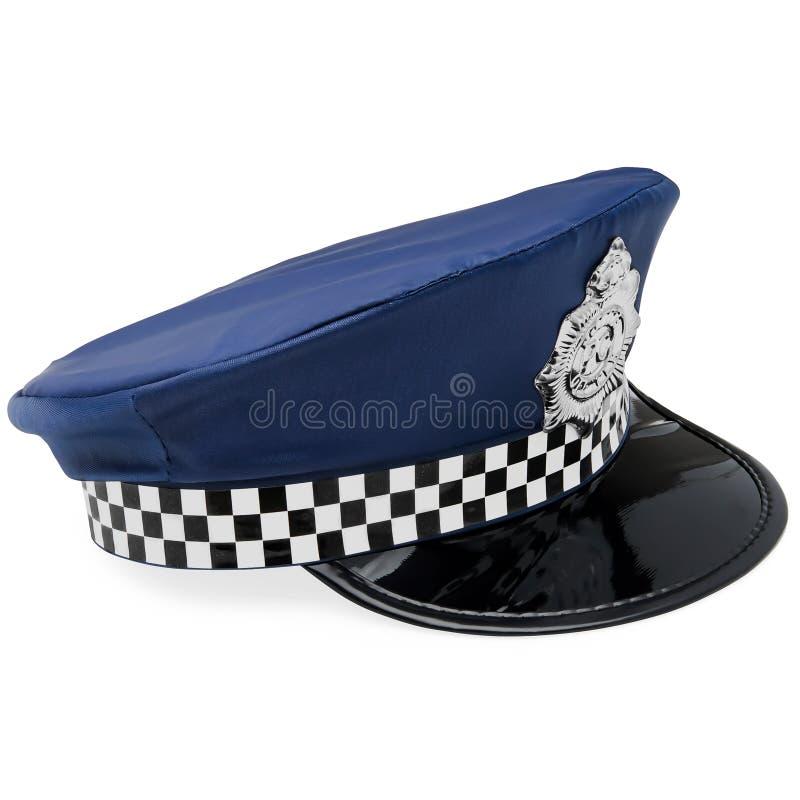 Καπέλο αστυνομίας παιχνιδιών στοκ εικόνες