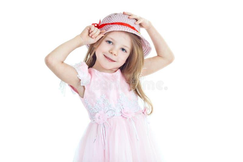 καπέλο κοριτσιών λίγη προ&s στοκ εικόνα με δικαίωμα ελεύθερης χρήσης