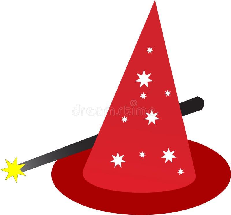 καπέλο μαγικό ελεύθερη απεικόνιση δικαιώματος