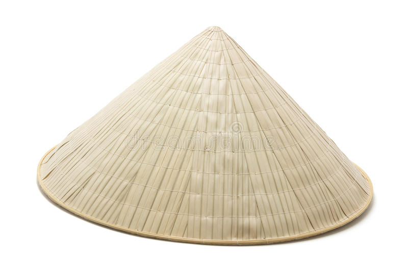 καπέλο μπαμπού στοκ φωτογραφία με δικαίωμα ελεύθερης χρήσης