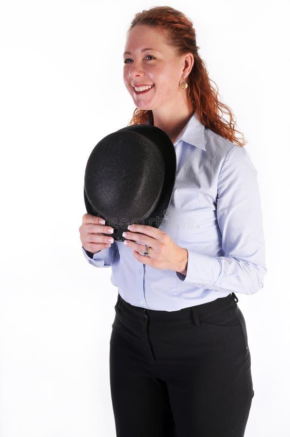 καπέλο ντέρπι στοκ φωτογραφία