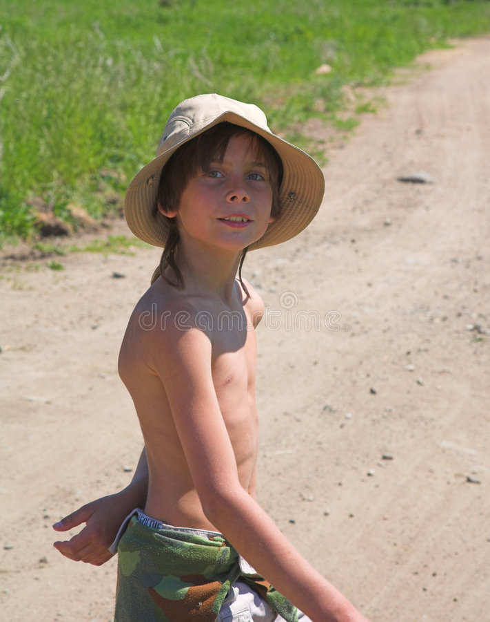 καπέλο παιδιών στοκ εικόνες