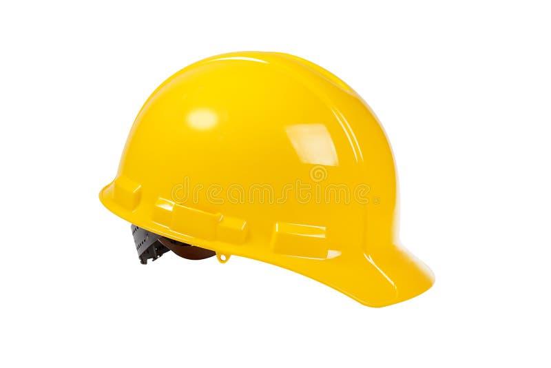 καπέλο που απομονώνεται σκληρό στο λευκό στοκ εικόνα με δικαίωμα ελεύθερης χρήσης