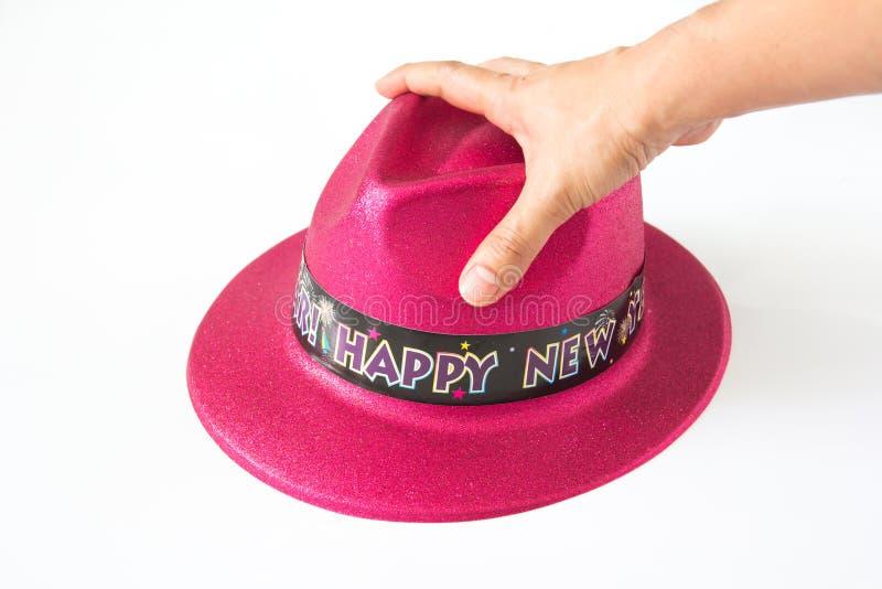 Καπέλο στο άσπρο υπόβαθρο στοκ φωτογραφία με δικαίωμα ελεύθερης χρήσης