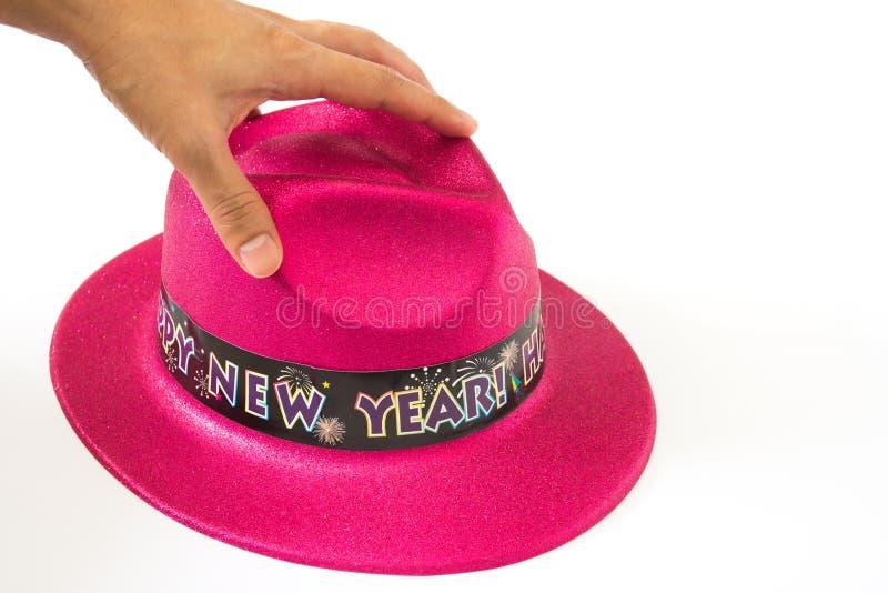 Καπέλο στο άσπρο υπόβαθρο στοκ εικόνα με δικαίωμα ελεύθερης χρήσης