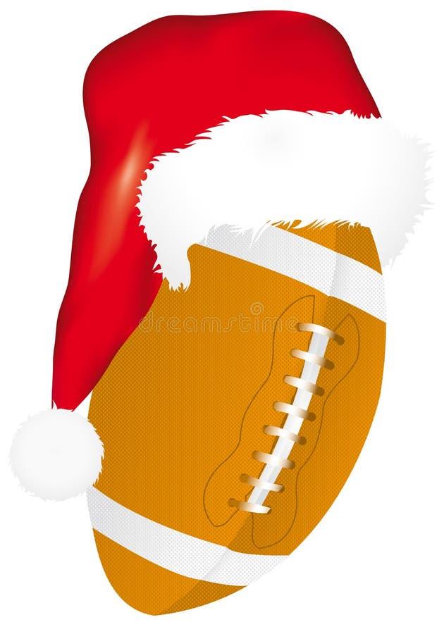καπέλο Χριστουγέννων σφα διανυσματική απεικόνιση