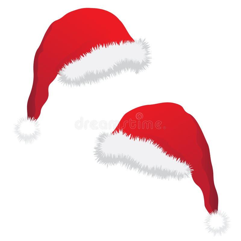 καπέλο Χριστουγέννων διανυσματική απεικόνιση