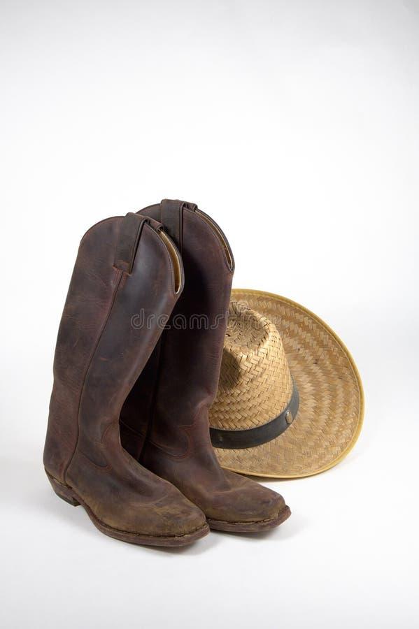 Download καπέλο 3 μποτών στοκ εικόνα. εικόνα από χρησιμοποιημένος - 383645