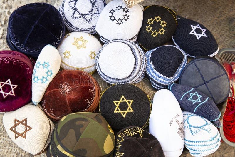 Καπέλο Kippah - εβραϊκό κάλυμμα στοκ φωτογραφία με δικαίωμα ελεύθερης χρήσης