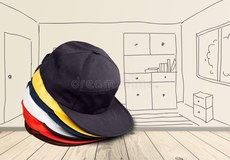 Καπέλα του μπέιζμπολ στοκ φωτογραφία με δικαίωμα ελεύθερης χρήσης