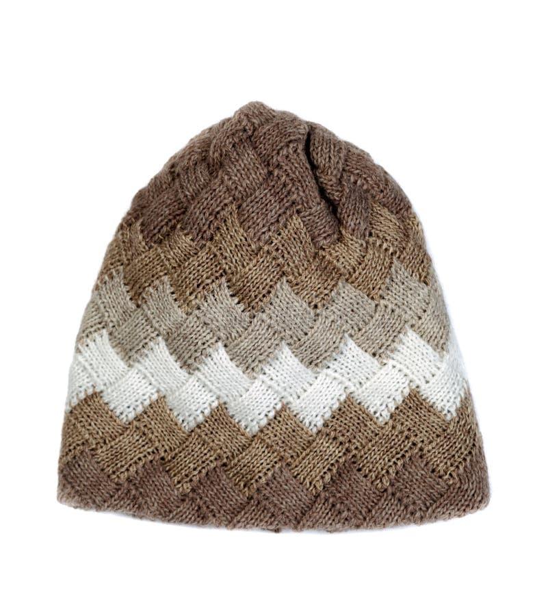 καπέλο πλεκτό στοκ εικόνα