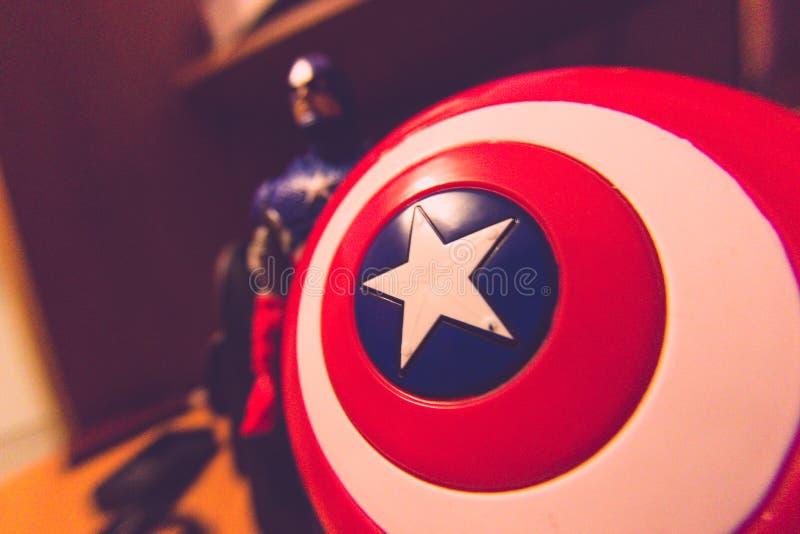 Καπετάνιος Αμερική στοκ φωτογραφία