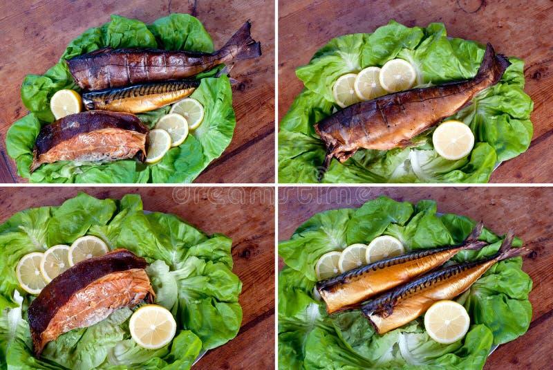 Καπνισμένα ψάρια στοκ φωτογραφίες