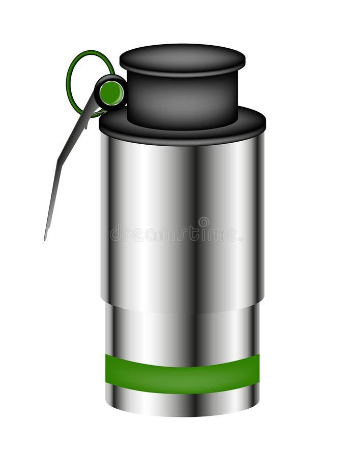καπνός χεριών χειροβομβί&delta ελεύθερη απεικόνιση δικαιώματος